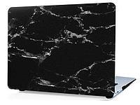 Пластиковый чехол для MacBook Pro Retina 15.4'' (черный камень, пластиковый)