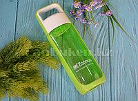 Бутылочка для воды ZANNUO 580 мл, емкость для воды зеленая