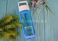 Бутылочка для воды ZANNUO 580 мл, емкость для воды  голубая