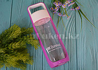 Бутылочка для воды ZANNUO 580 мл, емкость для воды розовая