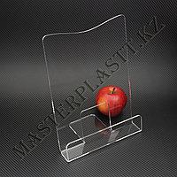 Буклетница Элегант А4, подставка для полиграфии, фото 1