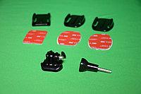 Набор плоских и изогнутых клеящихся платформ GoPro Flat + Curved Adhesive Mounts, фото 1