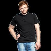 Рубашка поло унисекс StanUniform 04U Чёрный XXS/42