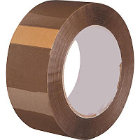Клейкая лента упаковочная 48 мм х 250 м, коричневая