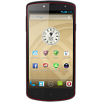 "Смартфон PRESTIGIO MultiPhone PAP7500 BLACK 16GB Micro-sim,5"" Full HD 1920x1080 IPS with OGS full lamination, Quad Core 1.5Ghz, Android 4.2, RAM 1GB"