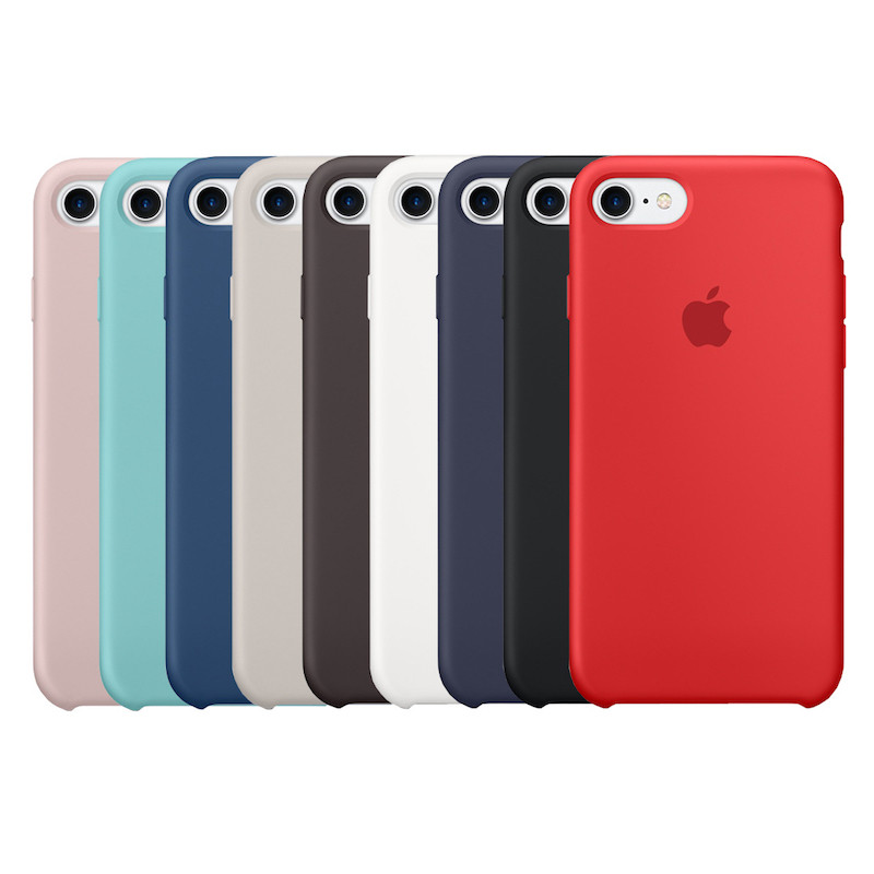 Чехол силиконовый Apple Store, Silicone Case, Apple iPhone 7, iPhone 8
