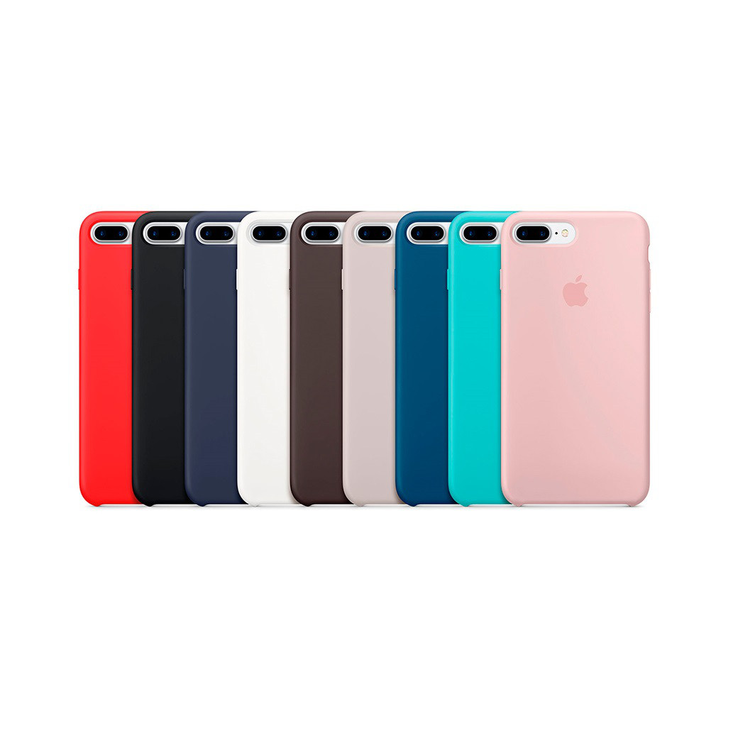 Чехол силиконовый Apple Store, Silicone Case, Apple iPhone 7 Plus, iPhone 8 Plus