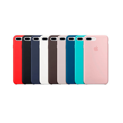 Чехол силиконовый Apple Store, Silicone Case, Apple iPhone 7 Plus, iPhone 8 Plus, фото 2