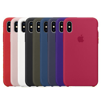 Чехол силиконовый Apple Store, Silicone Case, Apple iPhone x, iPhone 10, фото 2