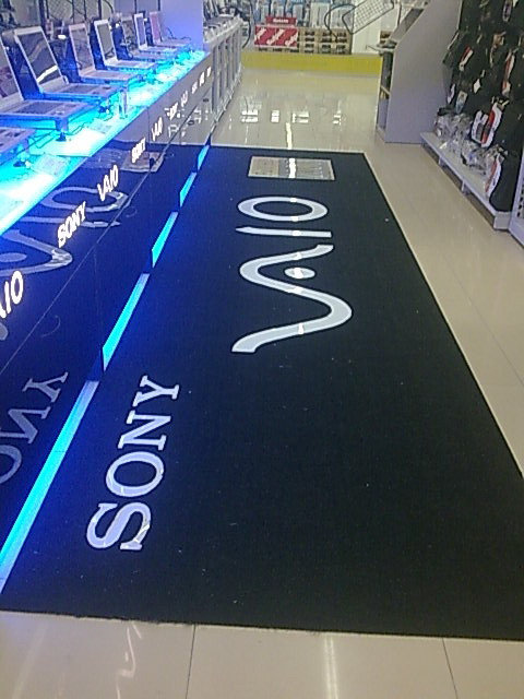 Демонстрационные стенды SONY 4