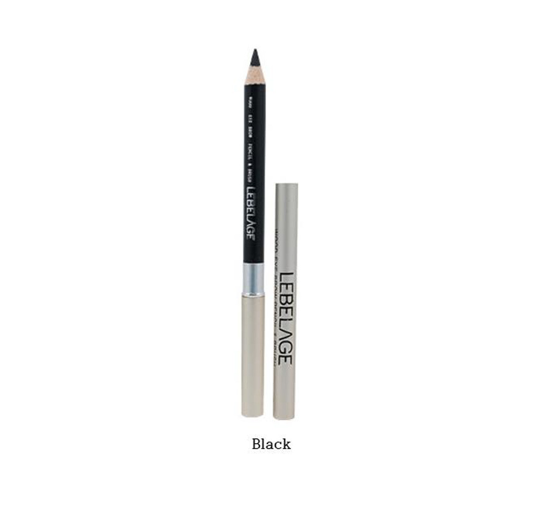 Lebelage Wod eyebrow Pencil & Brush Карандаш для бровей Черный