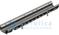 DN100 Лоток водоотводный Gidrolica Super ЛВ -10.14,5.08 - пластиковый, кл. Е600