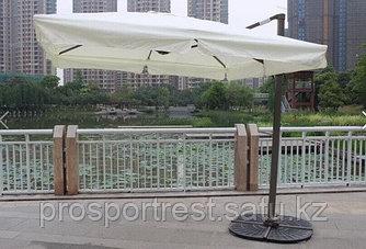 Зонт Banana квадратный с чехлом (3х3м), белый