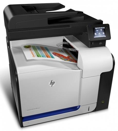 Лазерный Принтер-Сканер(АПД-50с.)-Копир-Факс МФУ HP CZ272A LaserJet Pro 500 M570dw(МФП)