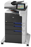 HP CC523A Color LaserJet 700 M775f eMFP (А3) Printer/Scanner/Copier/Fax/ADF, 800 MHz, 30ppm, 1536 Mb+320GB, tray 100+250+500+500 pages, USB+Ethernet,