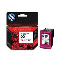 HP C2P11AE HP 651 Tri-color Ink Cartridge for DeskJet  IA5645 и IA5575, 300 pages for DeskJet  IA5645 и IA5575, 300 pages;