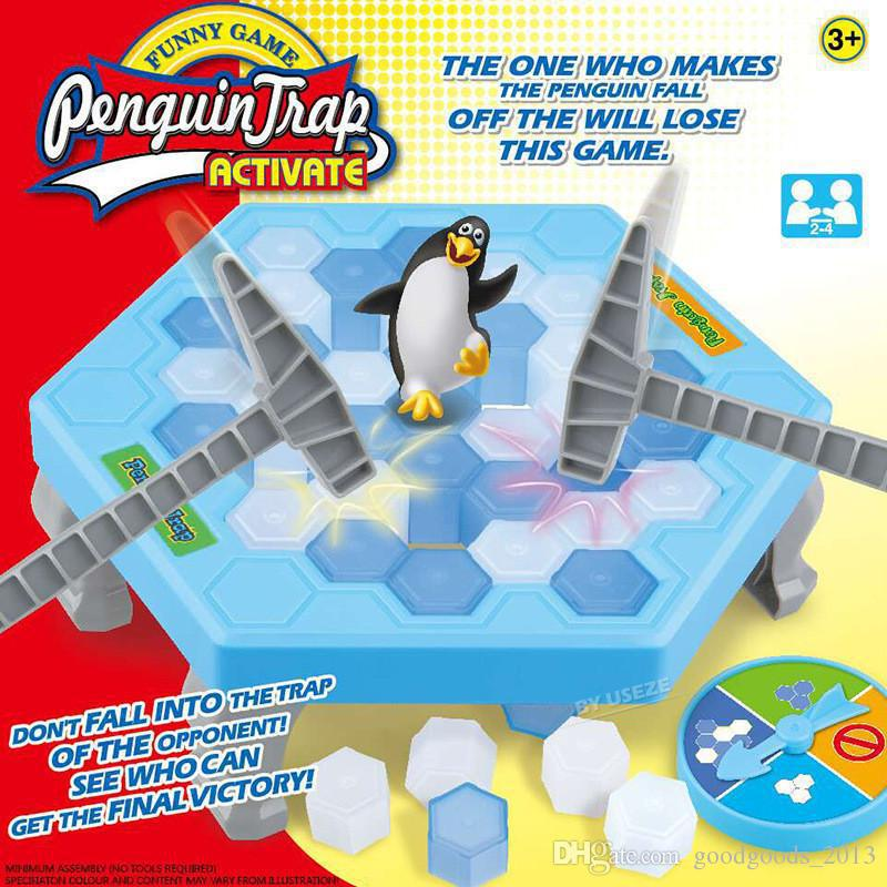 "Настольная игра ""Не урони пингвина"" - Penguin Trap, Алматы"
