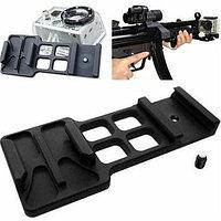 Крепление на оружие (Боковое) для GoPro, фото 1