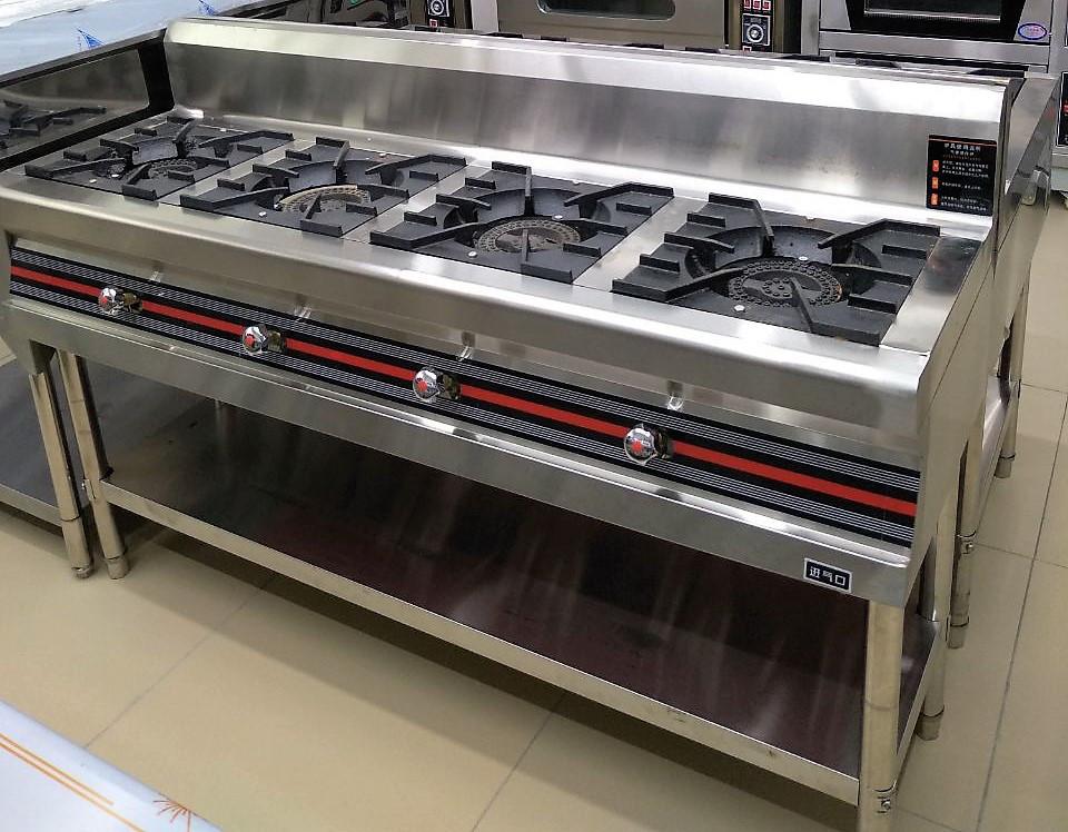 Газовая плита производственная 4 конфорочная