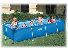 "Каркасный бассейн ""Intex Small Frame Pool"" (450* 220* 84 см)"
