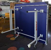 Большой теннисный стол Stiga (синий) +сетка доставка и установка, фото 2
