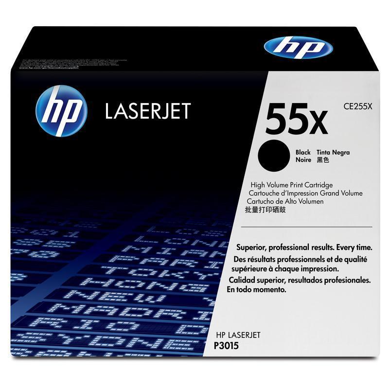 HP Картридж CE255X черный