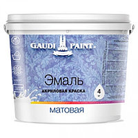 Акриловая краска Гауди Эмаль матовая