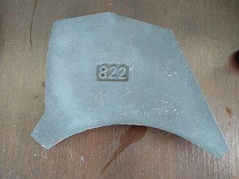 Верхняя пластина (плита) износа 822, фото 2