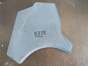 Нижняя пластина (плита) износа 823, фото 2