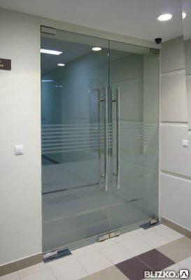 Маятниковые двери  для входной  группы, фото 2