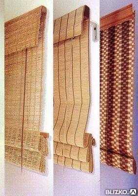 Жалюзи из бамбука, качественно, практично, стильно