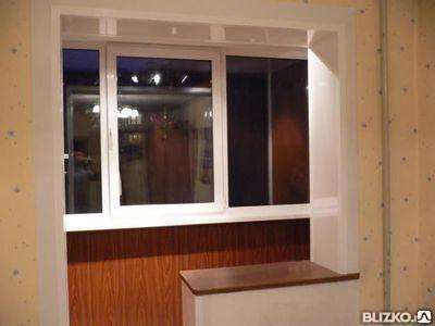 Объединение балкона