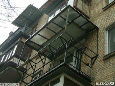 Каркасы под балконы и лоджии с доставкой и монтажом, фото 2