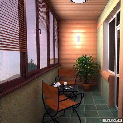 Дизайнерские балконы с отделкой под ключ, фото 2