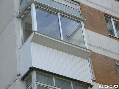 Балкон с выносом вперед под ключ