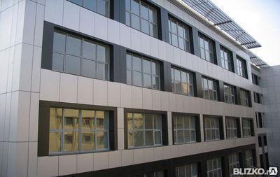 Вентилируемый фасад СИАЛ под ключ