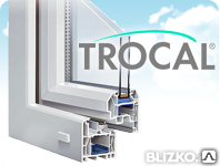 Окна TROCAL профильная система InnoNova_70.M5 пятикамерная, фото 2