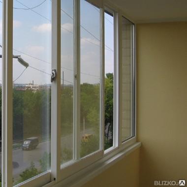 Окна купе балконные алюминиевый профиль, фото 2
