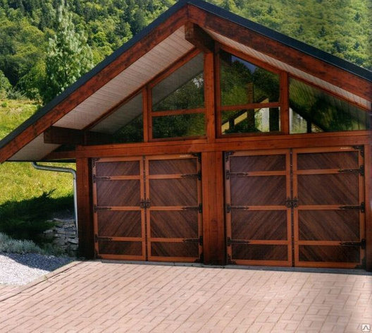 Ворота гаражные секционные, фото 2