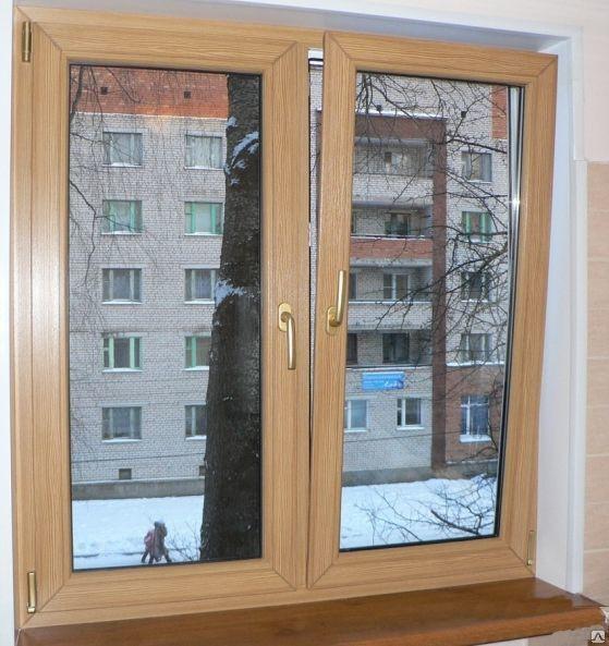 ПВХ окна  с ламинацией