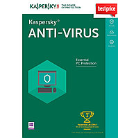 Kaspersky  Anti-Virus 2019  2ПК 1 год
