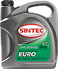 SINTEC EURO SAE 20W-50 API SJ/CF 5л