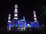 Подсветка Мечети г. Кокшетау , фото 3