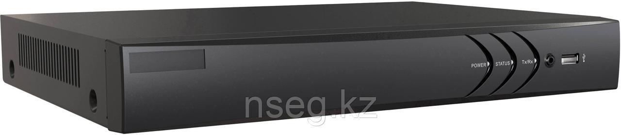 8-х канальный гибридный HD-TVI регистратор для  аналоговых, HD-TVI и AHD камер + 2 IP-камеры@4Мп. DS-H208U