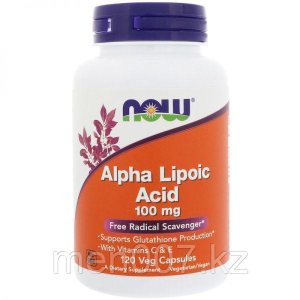 БАД Альфа-липоевая кислота (120 капсул)