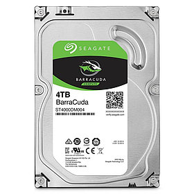 Seagate Barracuda Жесткий диск HDD  4Tb ST4000DM004