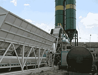 Мини стационарный бетонный завод SUMAB T-15