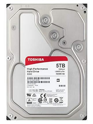 TOSHIBA Жесткий диск HDD 5Tb HDWE150EZSTA, фото 2