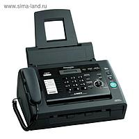 Факс Panasonic KX-FL423RUB чёрный, лазерный, АОН