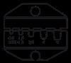 Пресс-клещи CTF с набором матриц, фото 6